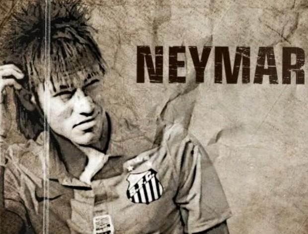 Neymar Esporte Espetacular Santos (Foto: Reprodução/TV Globo)
