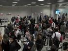 Após filas, Anac pede que passageiro chegue ao embarque 2h antes do voo