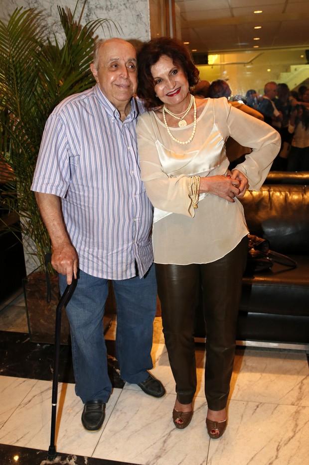Mauro Mendonça e Rosamaria Murtinho (Foto: Felipe Assumpção/AGNews)