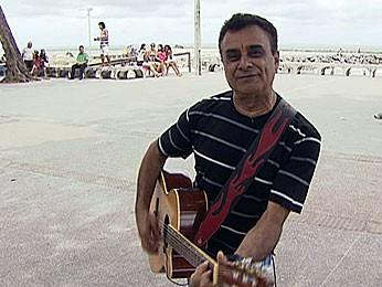Almir Bezerra, ex-vocalista The Fevers (Foto: Reprodução / TV Globo)