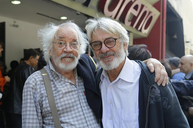 Luiz Serra e ZéCarlos Machado (Foto: Alessandra Gerzoschkowitz/ EGO)