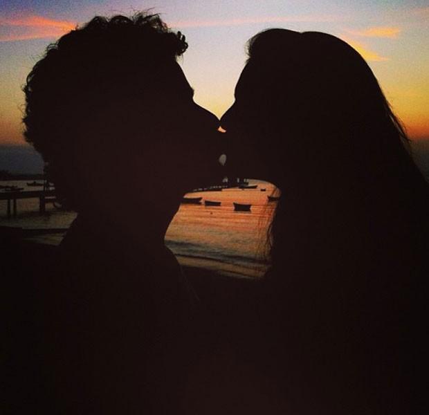 Paloma Bernardi e Thiago Martins (Foto: Instagram)