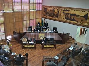 Assembleia Legislativa do Acre (Foto: Yuri Marcel/G1)