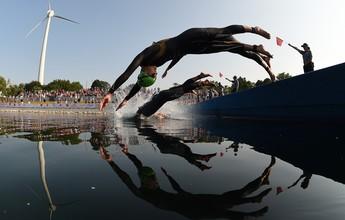 Com inscrições abertas, 8º Triathlon Sprint da PM será no Parque Tia Nair