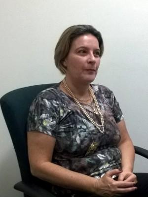 Delegada fala sobre depoimento da acusada em Sorocaba (Foto: Adriane Souza/G1)