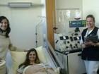 Encontro reúne doadora e receptora de medula: 'Graças a ela eu sorrio'
