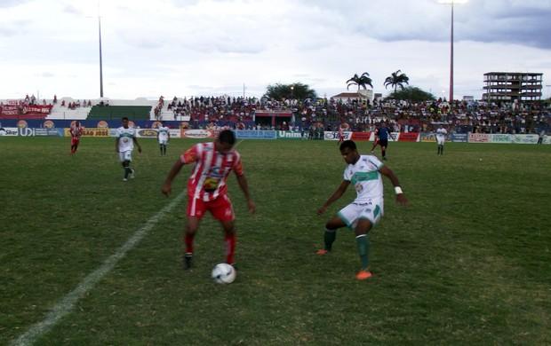 Nacional de Patos x Auto Esporte, Campeonato Paraibano de 20123 (Foto: Damião Lucena / Globoesporte.com/pb)