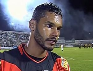 Darley goleiro Tombense Campeonato Mineiro (Foto: Reprodução/Premiere)