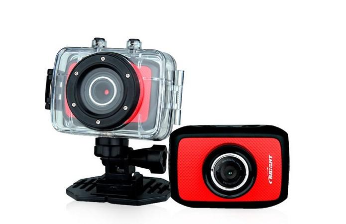 Câmera de ação Bright Sport Cam (Foto: Divulgação/ Bright)