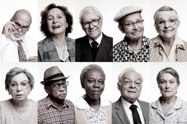 Retratos de Os Experientes, série de quatro episódios sobre envelhecer mas também sobre se redescobrir e se reinventar (Foto: Globo)