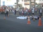 Motociclista morre no Centro de Piracicaba após bater em carreta