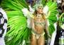 Mocidade fez homenagem a carnavalesco (Rodrigo Gorosito/G1)