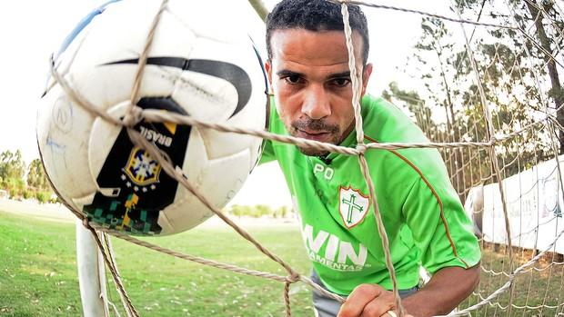 Bruno Mineiro, Atacante da Portuguesa (Foto: Marcos Ribolli / Globoesporte.com)