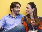 Sobre esposa, Giba admite: 'Tenho ciúmes' (Isabella Pinheiro / Gshow)