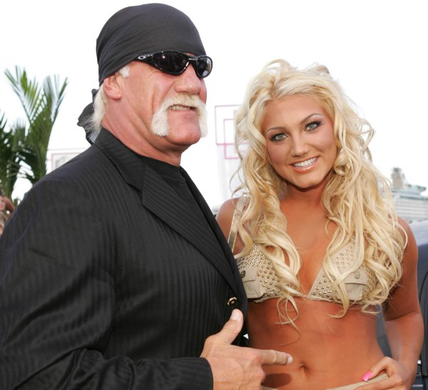 Hulk Hogan e Brooke Hogan (Foto: Getty Images)