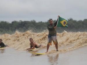 Pororoca foi palco de campeonatos nacionais no Amapá (Foto: Adriano Monteiro/Divulgação)