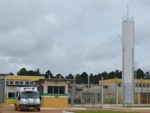 Presídio de segurança máxima de Vilhena, RO (Foto: Jonatas Boni/G1)