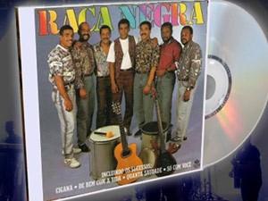 Capa do CD do Raça Negra lançado em 1992 (Foto: Divulgação)