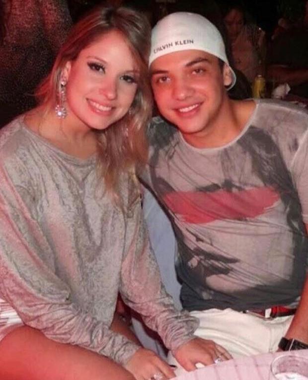 Wesley Safadão e Thyane Dantas no início do namoro (Foto: Reprodução/Instagram)