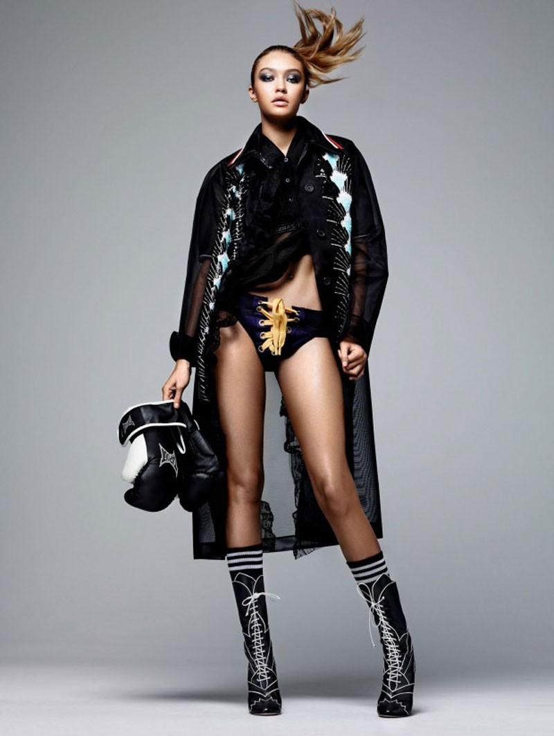 Na Vogue China (Foto: Reprodução)