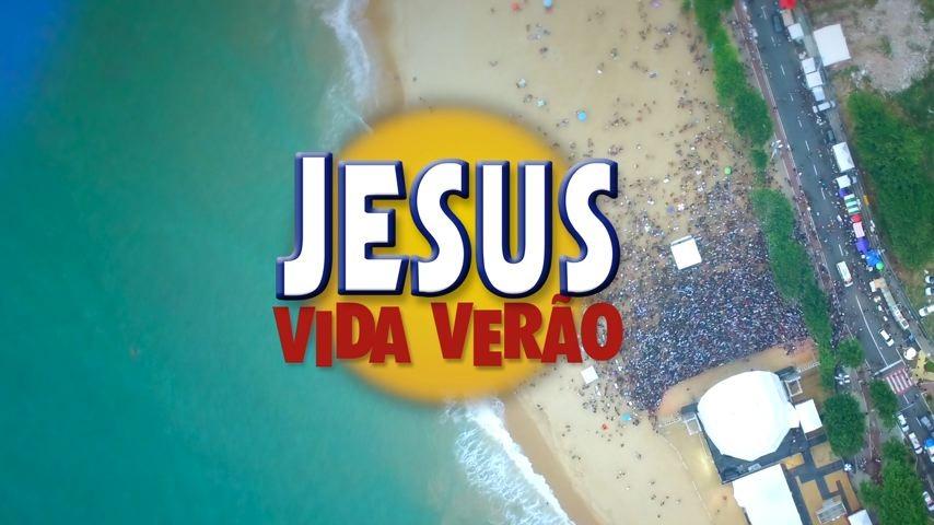 Jesus Vida Verão acontece na praia de Itapoã (Foto: Divulgação/ TV Gazeta)