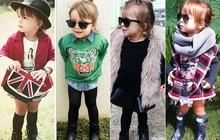 Mãe se inspira em famosas para criar looks para filha: 'Ela é minha boneca'