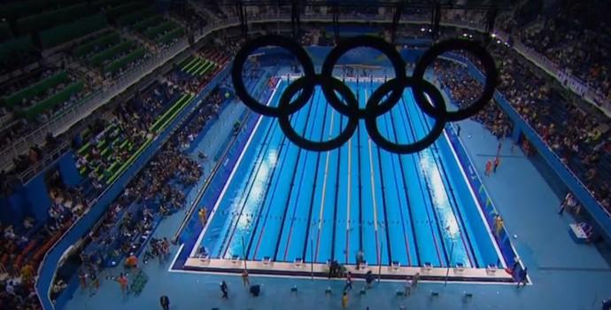 Estádio Olímpico de Esportes Aquáticos (Foto: Reprodução)