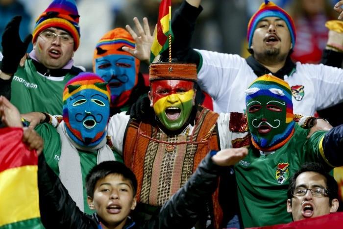 Torcida, México x Bolívia Copa América