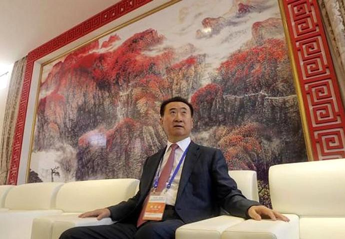 Wang Jianlin, milionário chinês (Foto: Reuters)