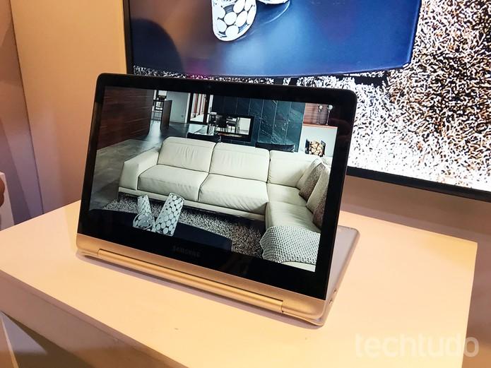 Style 2 em 1 é o novo híbrido da Samsung (Foto: Anna Kellen Bull/TechTudo)