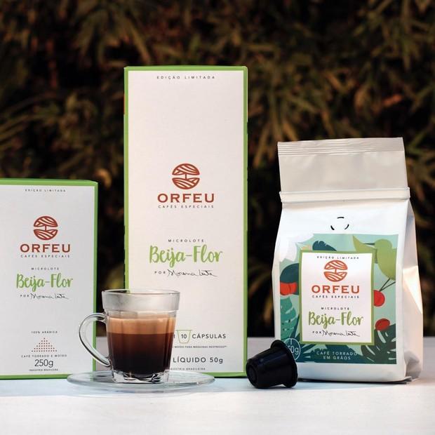 Cafés da linha Beija-Flor da Orfeu (Foto: Divulgação)