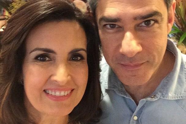 Fátima Bernardes e William Bonner (Foto: Reprodução/Instagram)