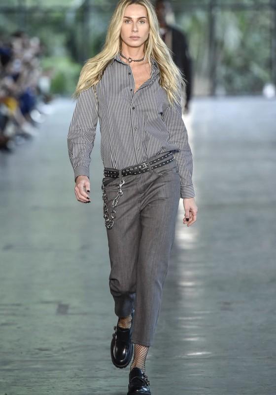 Mariana Weickert é uma das modelos mais antigas da história da SPFW (Foto: AG. News)