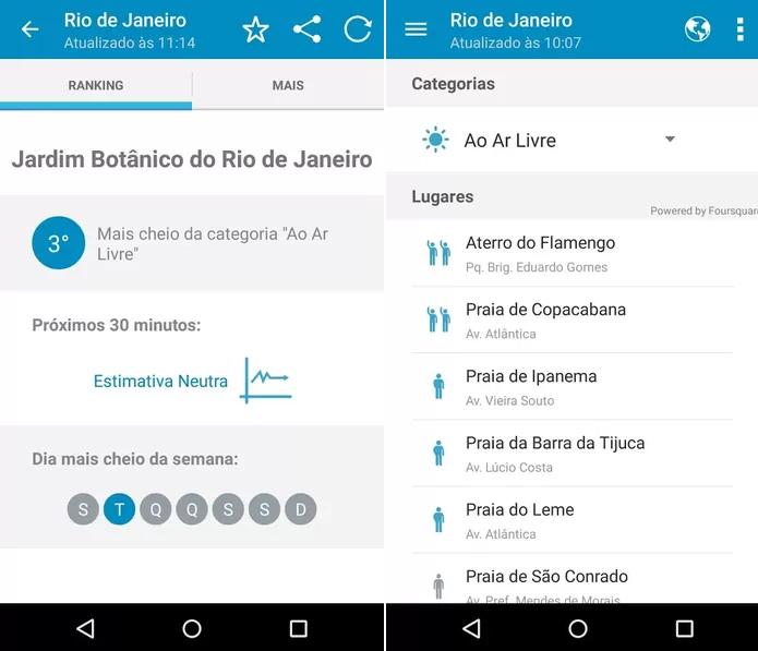 App ajuda usuários a saberem lotação dos locais (Foto: Divulgação)