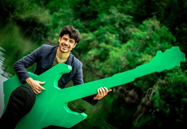 O guitarrista Pablo Sainz Villegas no lançamento do Amazonia Live (Foto: Flickr / Rock in Rio)