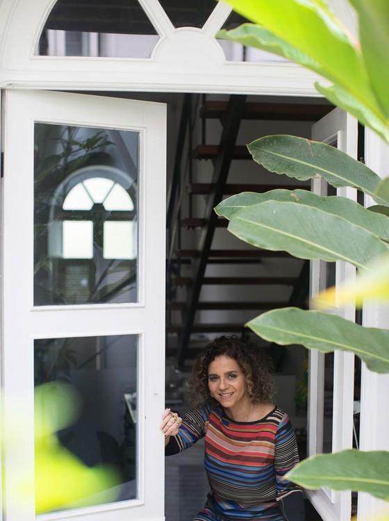A artista plástica Beatriz Milhazes  (Foto:  Vicente de Paulo)