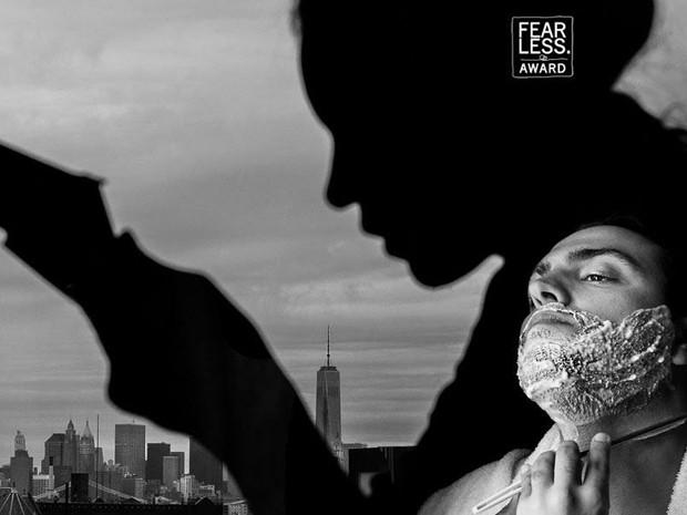 Imagem de noivo fazendo a barba em Nova York foi premiada (Foto: Rafael Vaz)