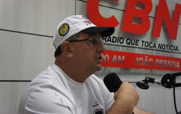 Marcelo Vilar, técnico do Botafogo-PB (Foto: Phelipe Caldas / globoesporte.com/pb)