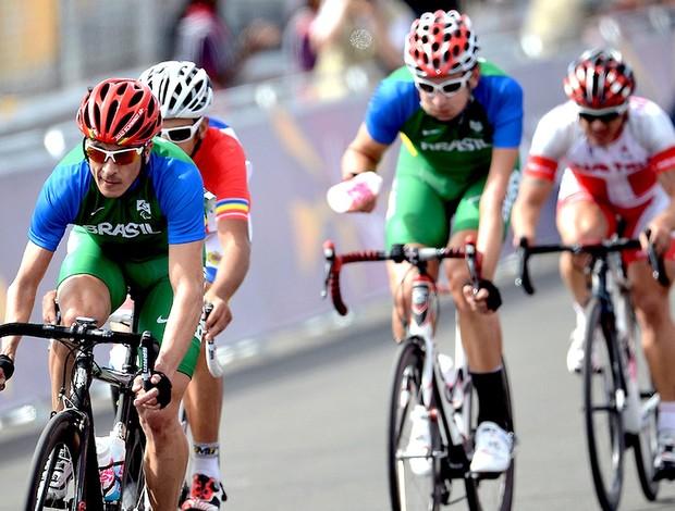 Soelito Gohr e João Alberto Schwindt ciclismo C5 Paralimpíadas (Foto: Bruno de Lima / CPB)