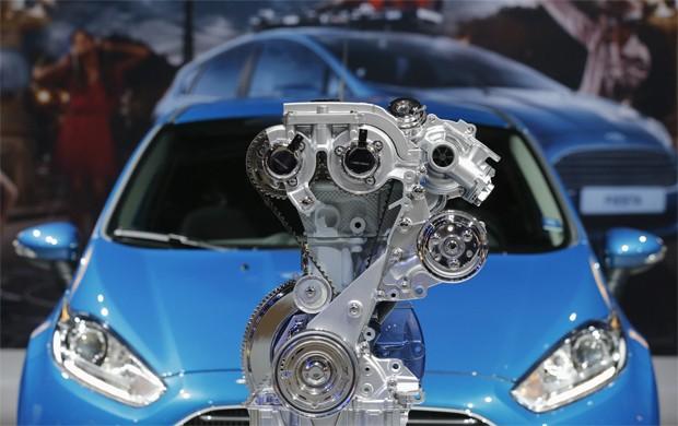 Fiesta e o motor Ecoboost (Foto: REUTERS/Christian Hartmann)