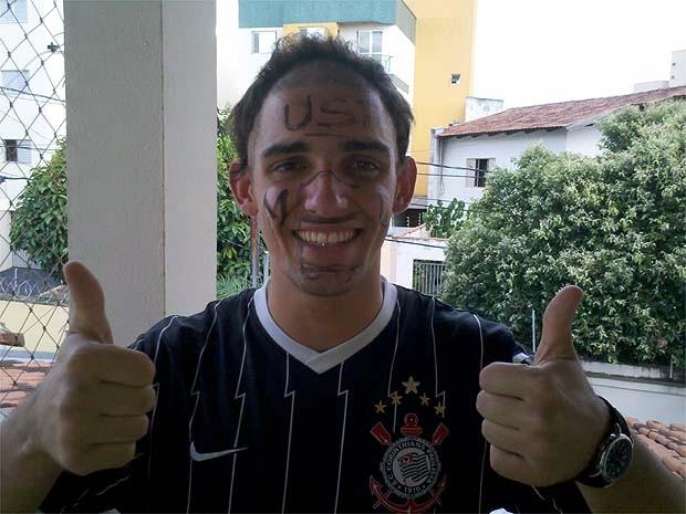 Angelo Alves Fávaro comemora aprovação na medicina da USP Ribeirão (Foto: Arquivo pessoal/Divulgação)