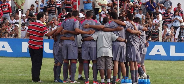 santa cruz porto jogo-treino (Foto: Daniel Gomes / GloboEsporte.com)