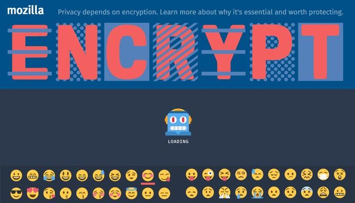 Mozilla tem jogo que permite ensinar sobre criptografia e mandar mensagens para os amigos (Foto: Reprodução/Barbara Mannara)