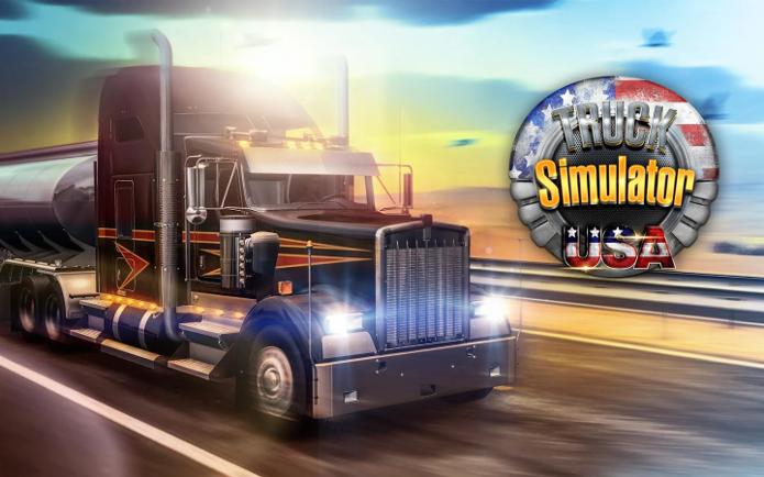 Truck Simulator USA traz vários caminhões e estradas da América do Norte (Foto: Divulgação/Ovidiu Pop)