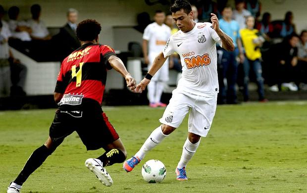 bernardo santos edcarlos sport brasileirão 2012 (Foto: Mauricio de Souza / Agência Estado)