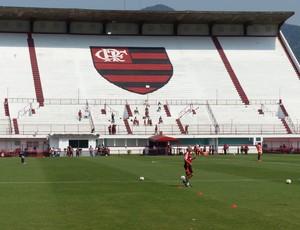 Flamengo treino Gávea (Foto: Cahê Mota)
