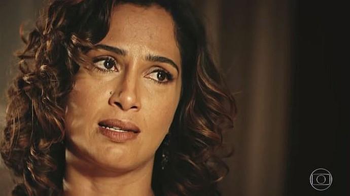 Tereza decide revelar toda a verdade a Miguel (Foto: TV Globo)
