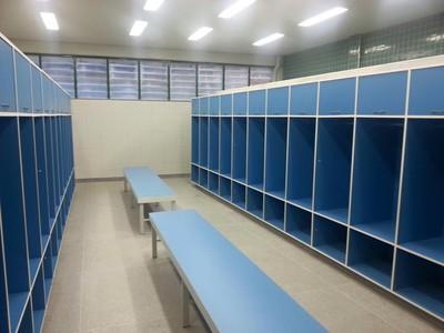 Vestiário Estádio Juiz de Fora (Foto: Divulgação/Prefeitura de Juiz de Fora)
