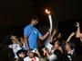 """Campeão olímpico, Ricardo espera ver seu filho em Tóquio 2020: """"Vai brigar"""""""