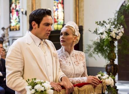Spoiler: Candinho diz 'não' para Sandra no altar!